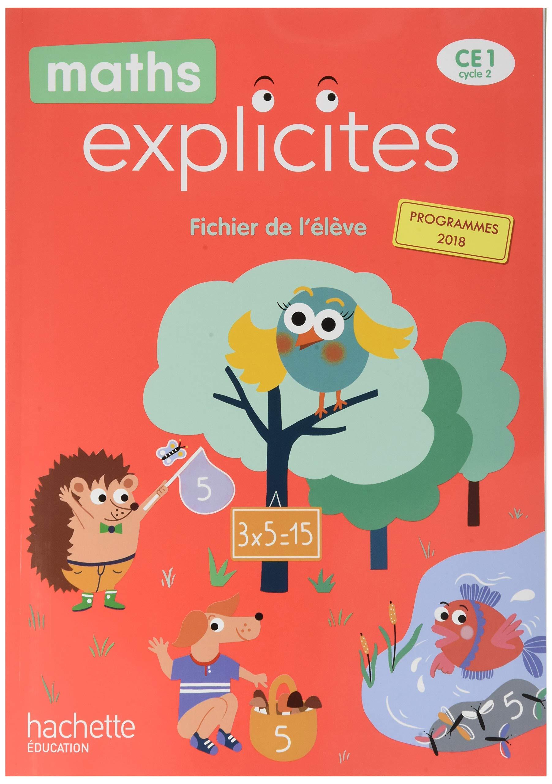 Maths Explicites CE40   Fichier élève avec mémo   Edition 40 ...