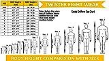 Twister Karate Uniforms middleweight Black 8oz