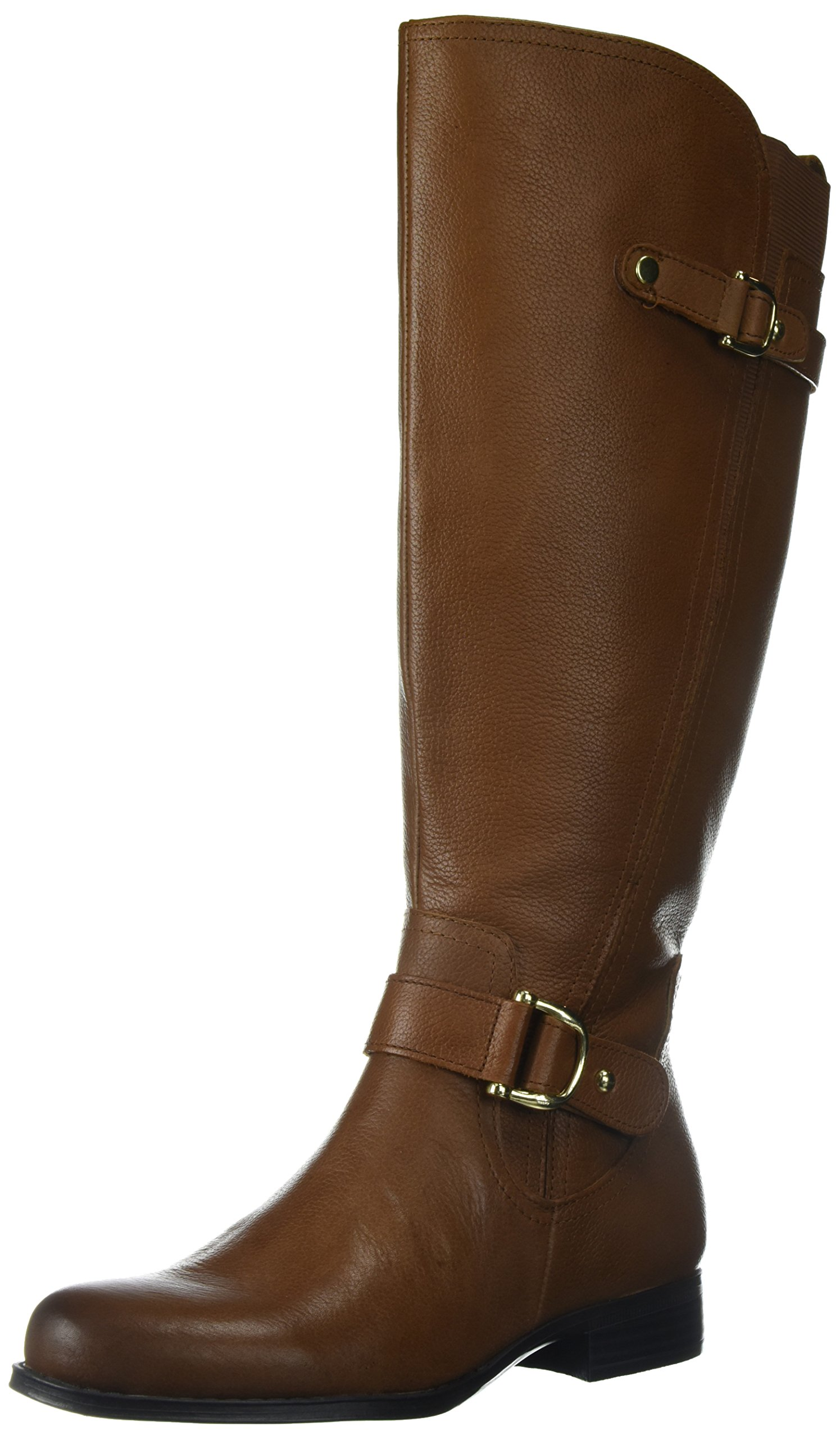 Naturalizer Women's Jenelle WC Riding Boot, Brown 200, 8 2W US