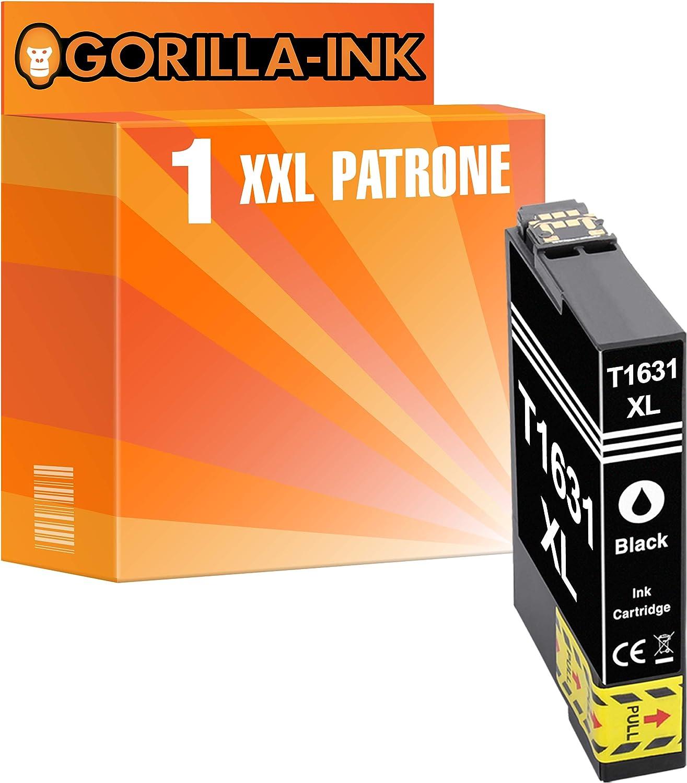 Gorilla Ink 1 Patrone Xxl Kompatibel Mit Epson T3471 34xl 34 Xl Black Geeignet Für Workforce Pro Wf 3720 Dw Wf 3725 Dwf Series Wf 3720dw Wf 3720dwf Wf 3725dwf Bürobedarf Schreibwaren