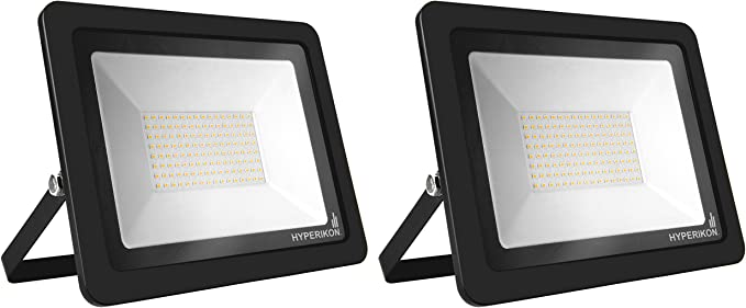 Hyperikon Outdoor Led Flood Light 200w 1000 1250 Watt Equiv Rotatable Mount 5000k 110v Ip65 2 Pack Amazon Com