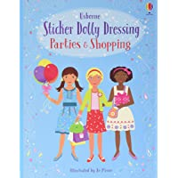 Sticker Dolly Dressing/Parties And Shopping Girls