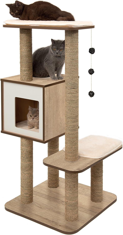 Amazon.com: Vesper - Poste rascador para árbol de gatos con ...
