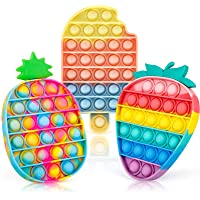 iTechjoy Pop Fidget Toys It 3 Pack for Kids and Adults, Push Bubble Its Sensory Pop Fidget Toy for Autism ADHD ADD to…