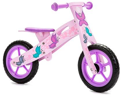 Amazon.com: Bicicleta de equilibrio de madera para niños ...