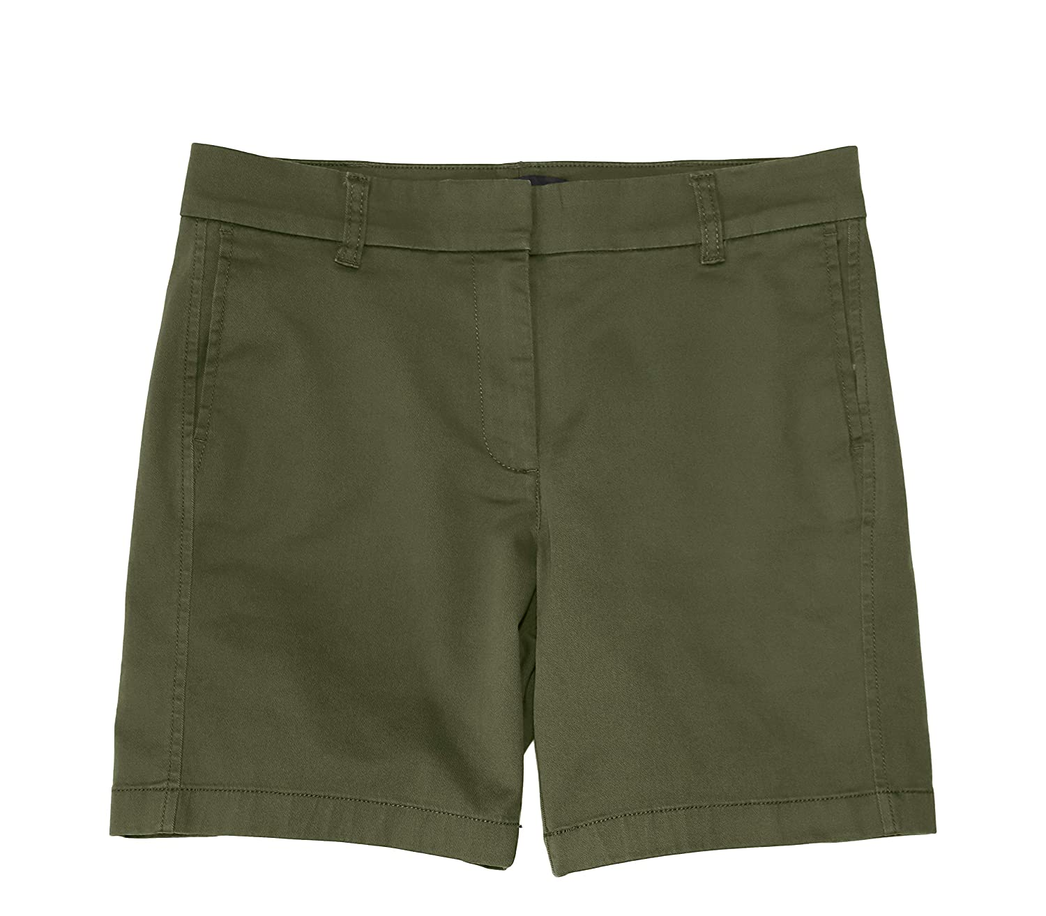 lowest discount outlet on sale great fit J.Crew Women's 7 Inch Chino Stretch Cotton Shorts