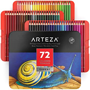 ARTEZA 72-Color Colored Pencils