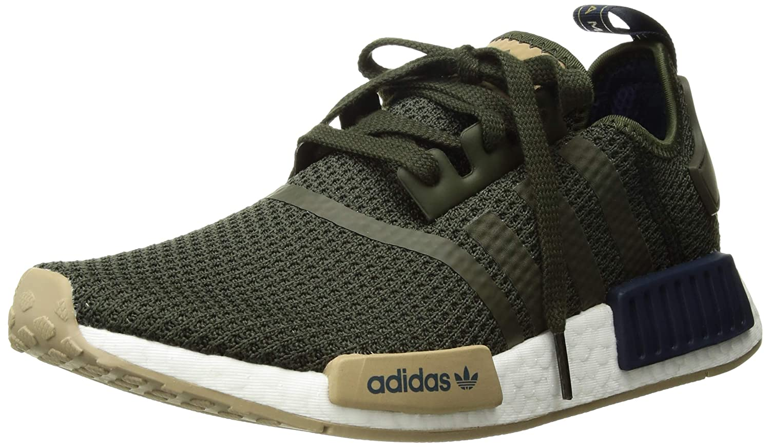 watch 6046a b1e9e Amazon.com   adidas Originals Men s NMD R1, Night Cargo Collegiate  Navy Hemp 7.5 M US   Shoes