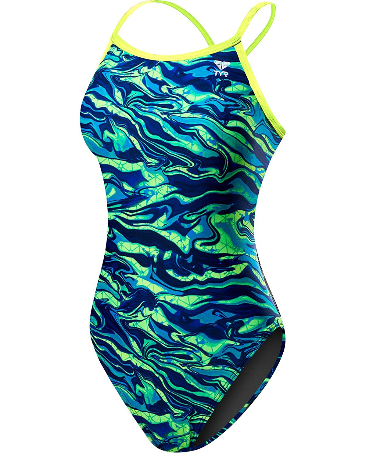 TYR Girls/' Miramar Diamondfit Swimsuit