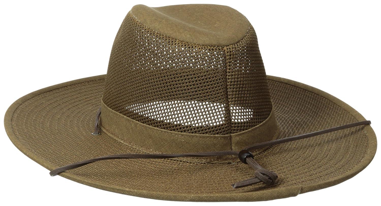 921986a65 Amazon.com: Henschel Crushable Soft Mesh Aussie Breezer Hat: Clothing