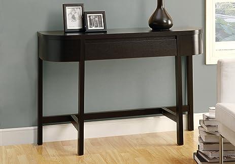 Monarch Specialties Accent Console Table, 48 Inch, Cappuccino
