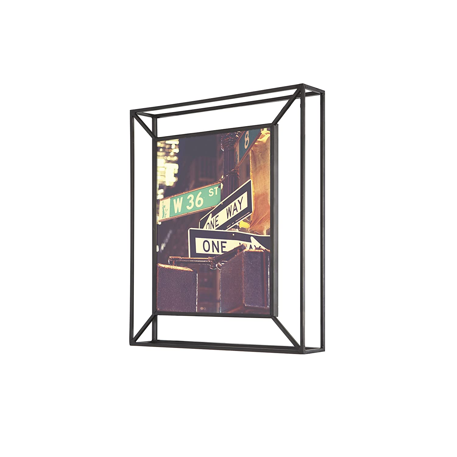 Amazon.com - Umbra Matrix Metal Picture Frame, 8 by 10-Inch, Black -