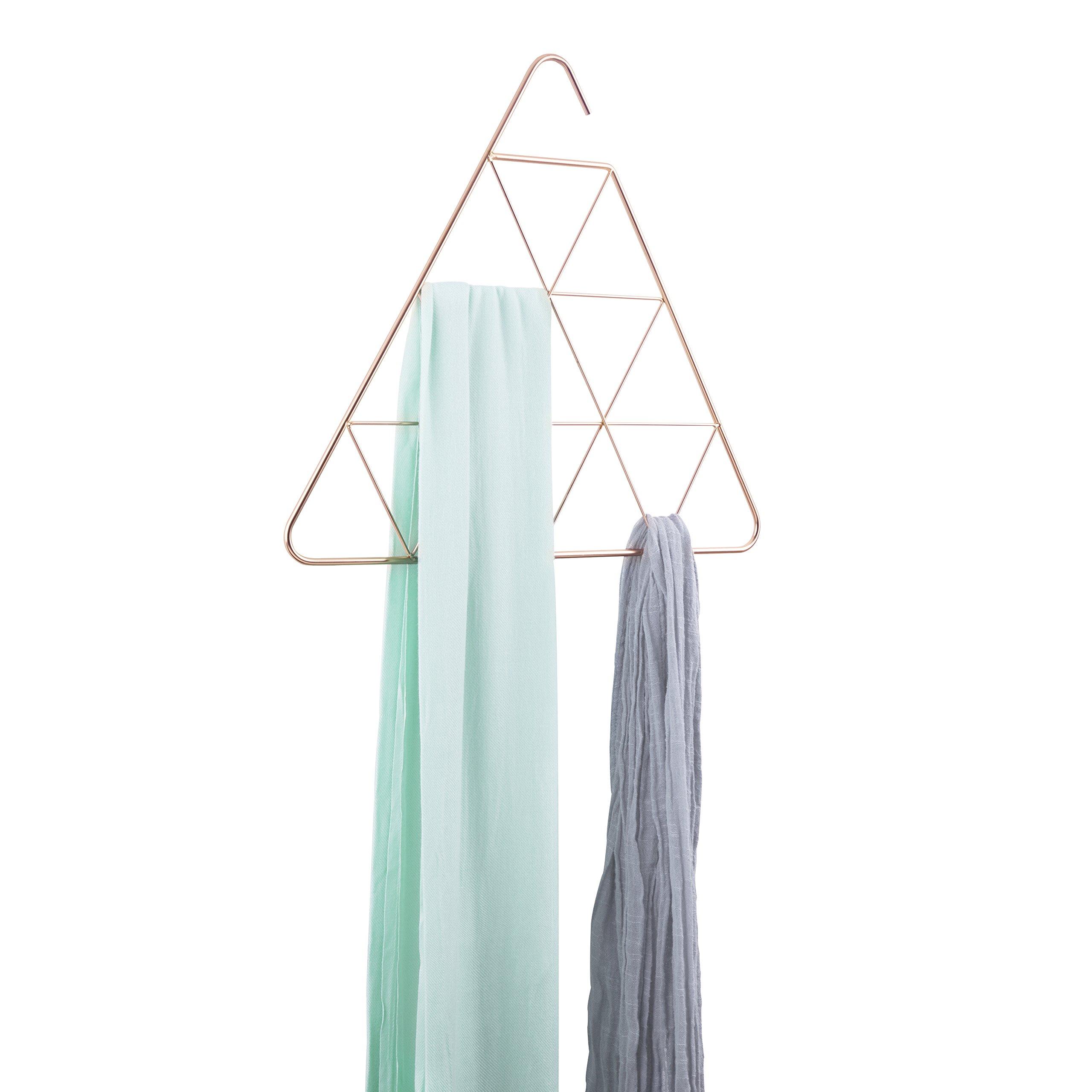 Umbra Pendant Triangular Copper Scarf Hanger/Accessory Hanger, Copper by Umbra (Image #3)