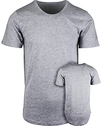 ShirtBANC Mens Hipster Hip Hop Long Drop Tail T Shirts | Amazon.com