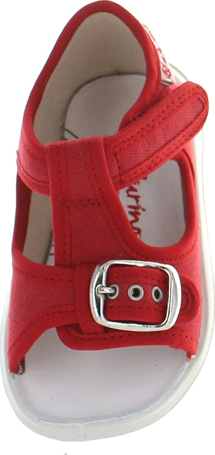 Naturino Boys 7786 Canvas Sandals with Buckle