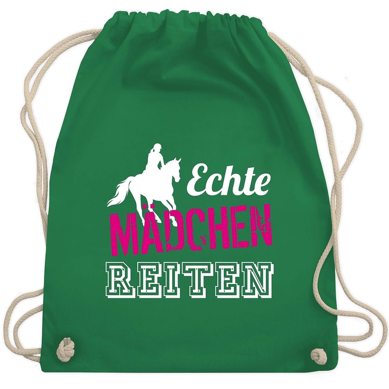 Rucksack bedruckt Sport Tasche Beutel Kinder Schule Reiten Pferd Pony Girl  60