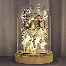 Valery Madelyn Dôme en Verre de Noël  : un très bel objet… quand il est illuminé !