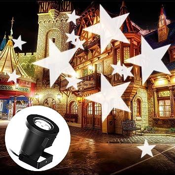 Led Strahler Mit Lichtspiel Wasserfest Weihnachtsbeleuchtung