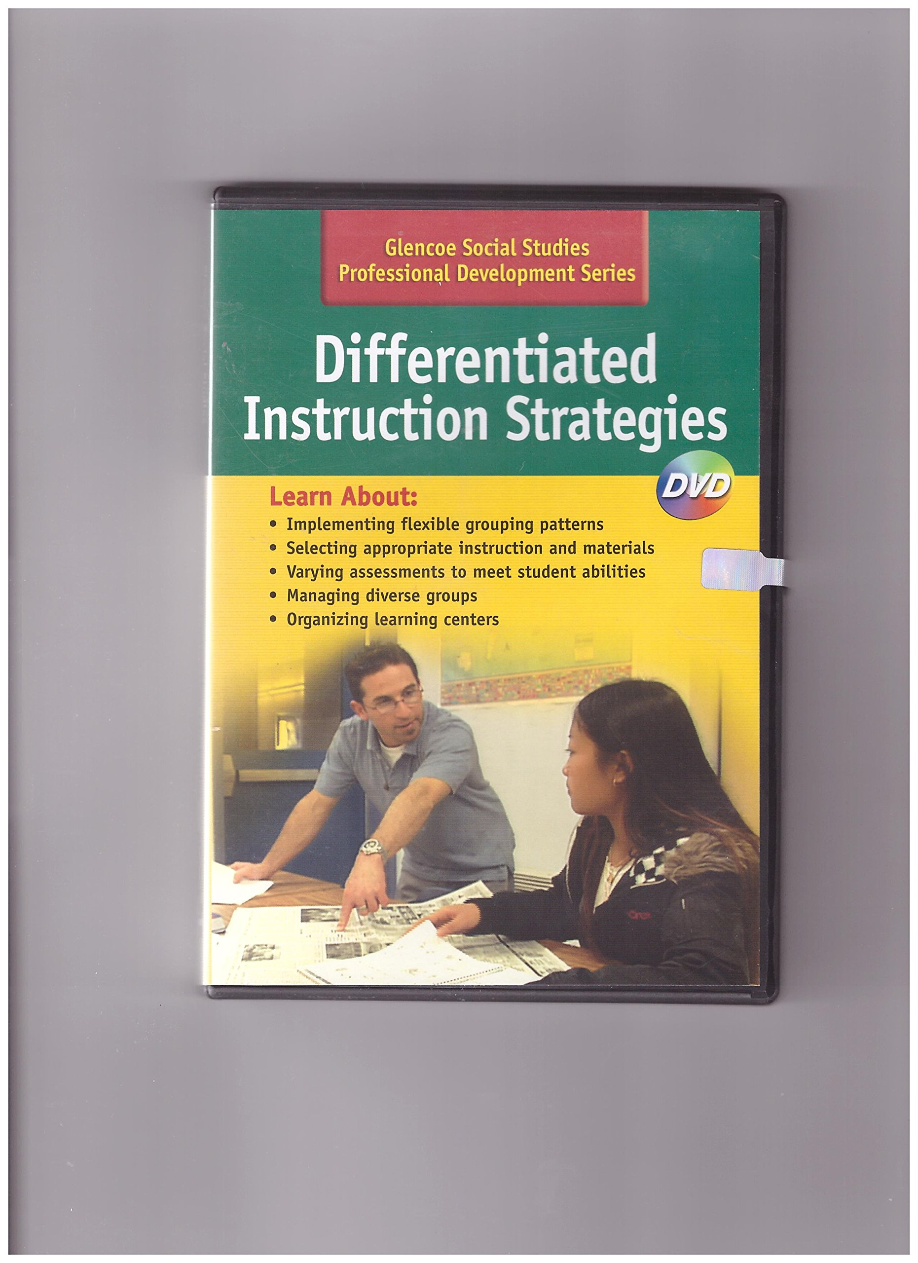 Differentiated Instruction Strategies Dvd Glencoe Social Studies