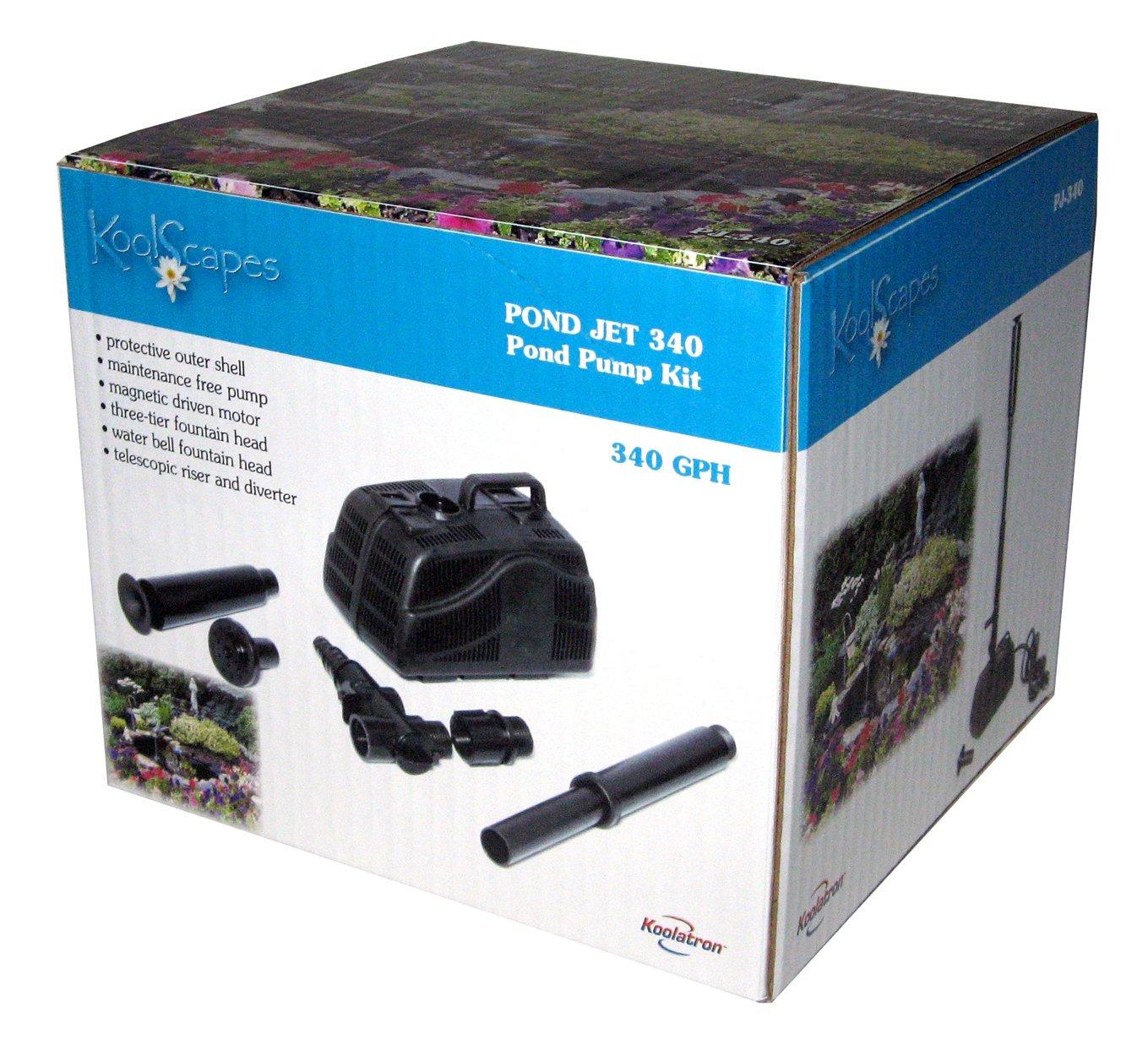 Amazoncom  Koolscapes  GPH Pond Pump Kits  Pond Water Pumps - Amazon pond pumps