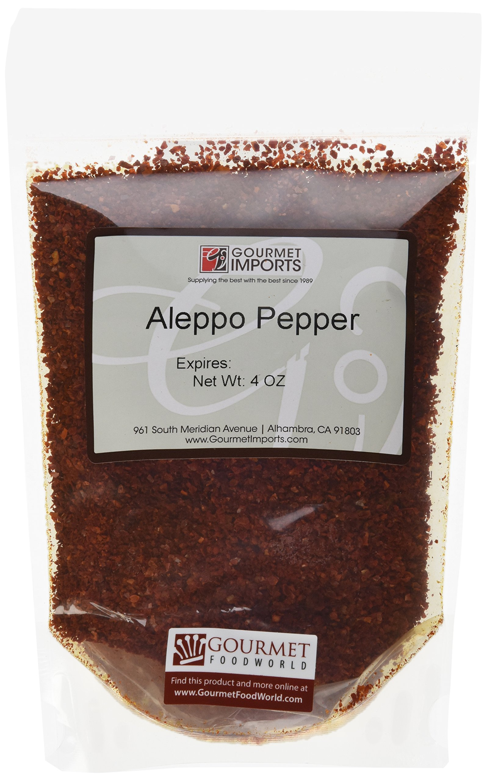 Aleppo Pepper - 1 resealable bag - 4 oz