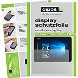 dipos Asus Transformer Book T100HA Schutzfolie (2 Stück) - Antireflex Premium Folie matt