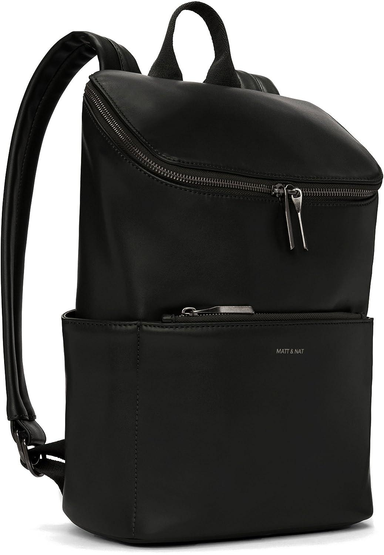 Matt and Nat Brave Loom Backpack, Black F17Brave-Loom