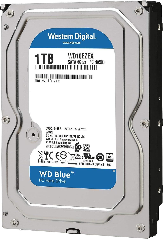 WD Blue - Disco duro para ordenadores de sobremesa de 1 TB (7200 ...
