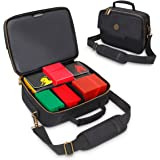 ENHANCE MTG Card Box Storage Case - Deck Holder Card Carrying Case Bag Compatible with Magic MTG Cards, Card Games, Cards Aga