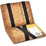 GenTo® Vegas Magic Wallet - Certificado RFID, protección NFC - Billetera mágica y Fina con Compartimento para Monedas…