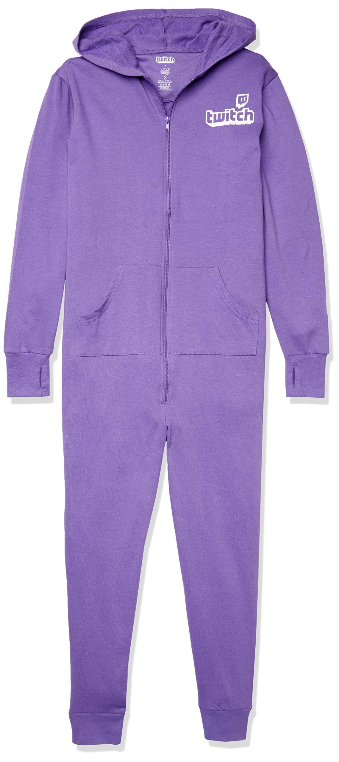 Twitch Logo Adult Onesie, Purple, XX-Large