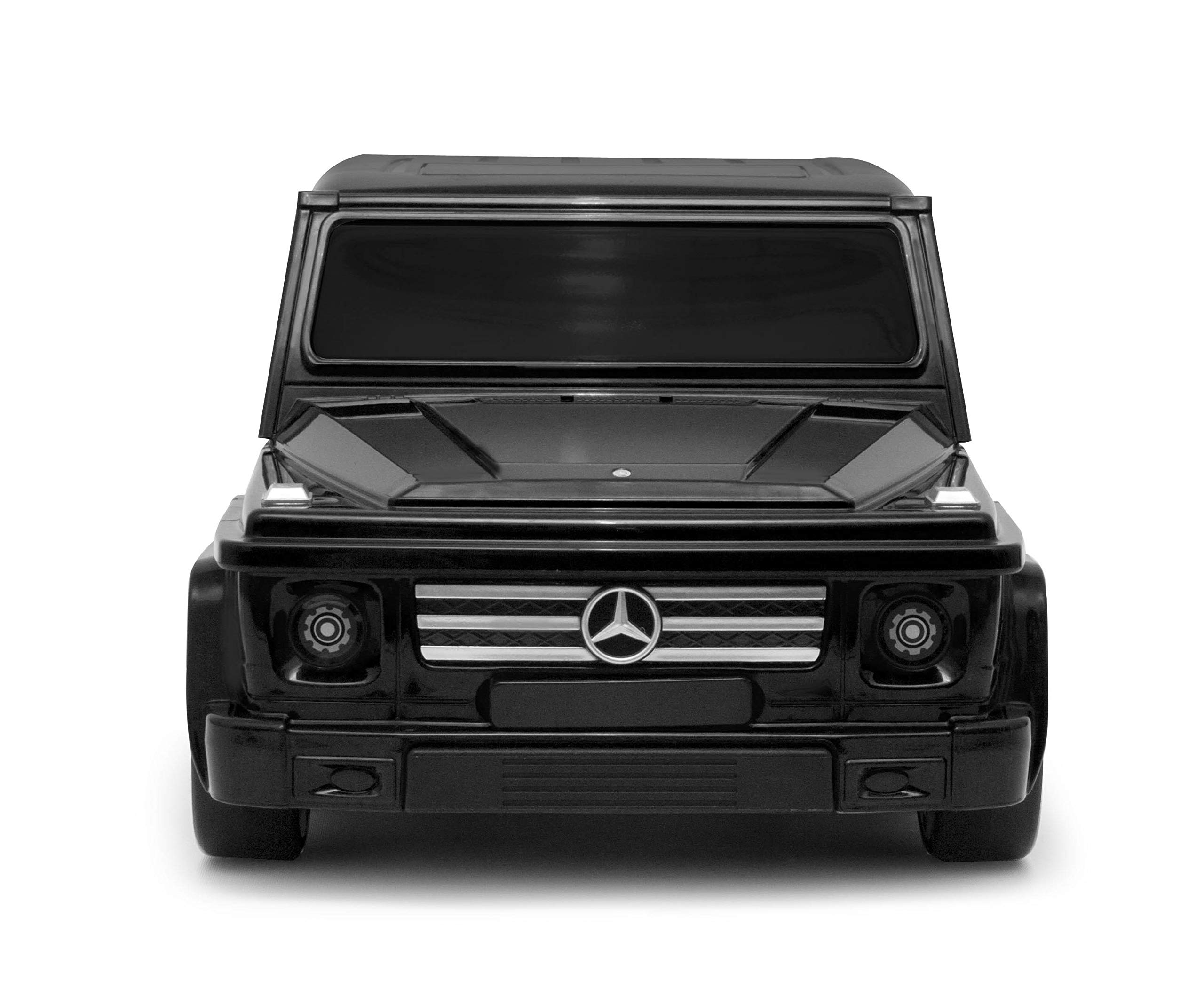 Ridaz Mercedes Carry-on Hand Luggage for kids, Black Mercedes