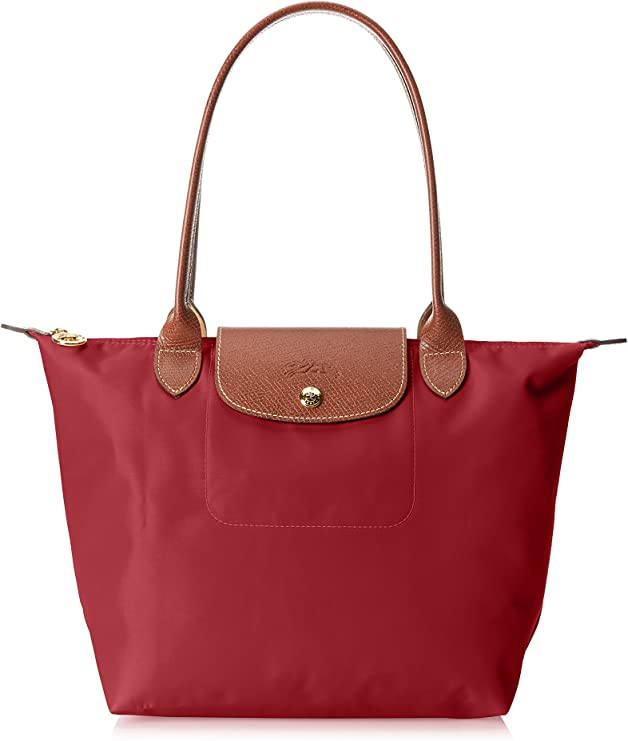 Longchamp Le Pliage Shoulder Bag Small Red One Size