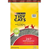 Purina Tidy Cats Non-Clumping Clay Litter For Multiple Cats 24/7 Performance, 20lb.