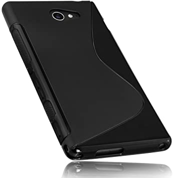 Mumbi - Carcasa Protectora para Sony Xperia M (Poliuretano ...
