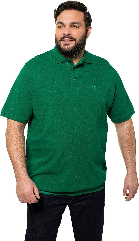 Bauchshirt JP1880-Brustdruck T-Shirt Poloshir JP 1880 Herren gro/ße Gr/ö/ßen bis 8XL 712617 Piqu/é