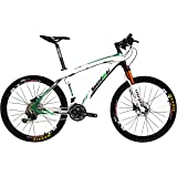 BEIOU Carbon Fiber Mountain Bike Hardtail MTB SHIMANO M610 DEORE 30 Speed Ultralight 10.8 kg RT 26 Professional External Cable Routing Toray T800 CB005
