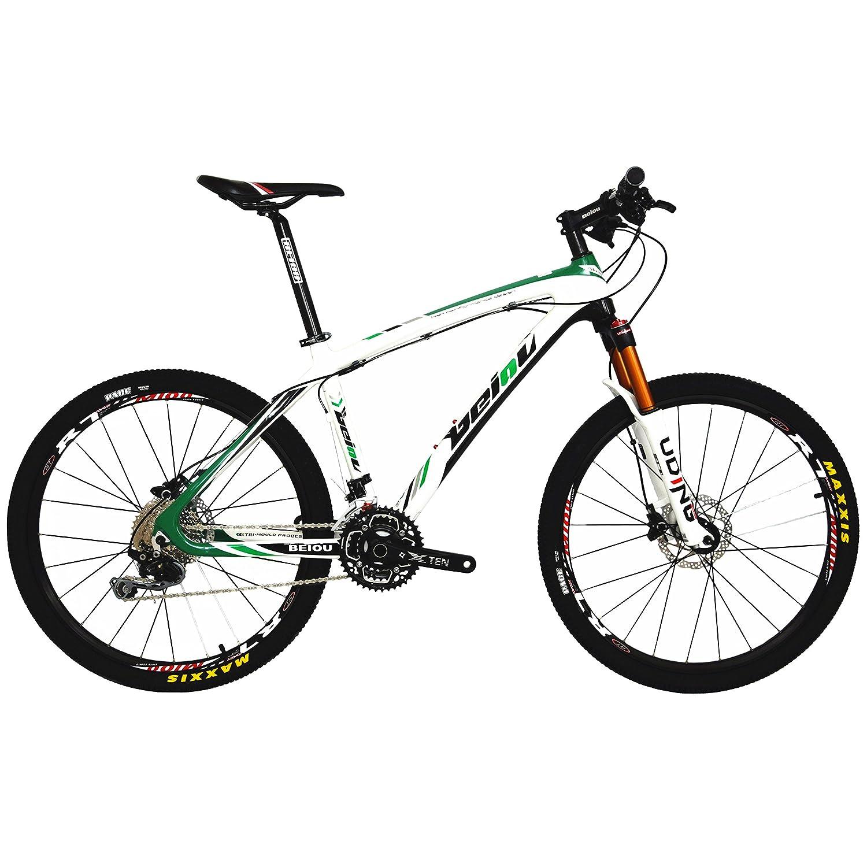 Carbon Fiber Mountain Bike >> Beiou Carbon Fiber Mountain Bike Hardtail Mtb Shimano M6000 Deore 30 Speed Ultralight 10 8 Kg Rt 26 Professional External Cable Routing Toray T800