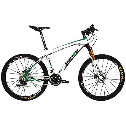 Amazon.com : BEIOU Carbon Fiber Mountain Bike Hardtail MTB SHIMANO ...