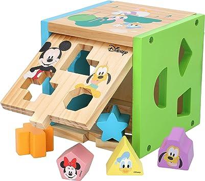 Oferta amazon: Disney - Cubo encajables bebé 14 piezas Figuras geoméricas y colores - Juguetes bebés 1 año Juego educativo niños 1 2 años - Desarrollo de habilidades motoras Bloques infantiles Disney
