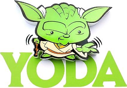 STAR WARS L/ámpara 3D Espada Laser Yoda