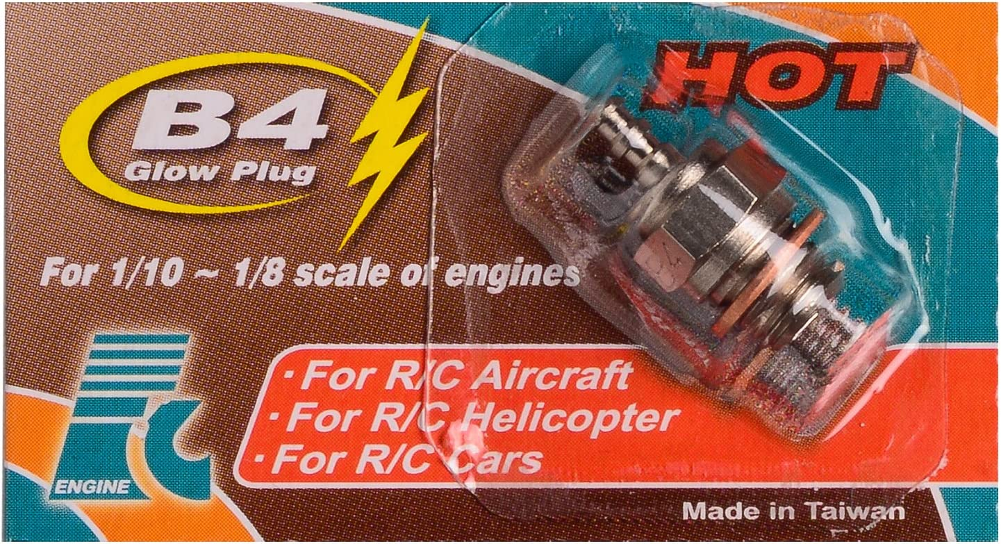 4 Hei/ß FORCE Engine GP01 Gl/ühkerze Nitromotor No