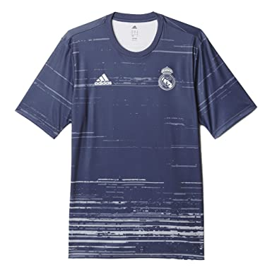 b42cb499e Image Unavailable. Image not available for. Color: Adidas Men's AZ3888 Real  Madrid Home Pre-Match Jersey ...