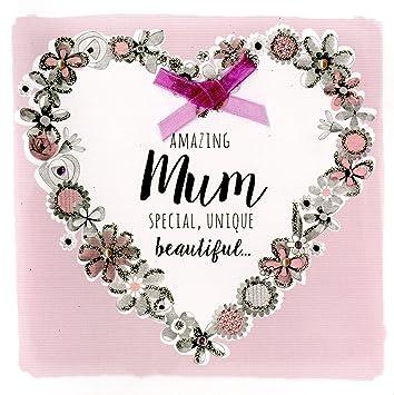 To A Wonderful Mum Birthday Greeting Card New