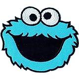 hierro de Aufbügler de parche en Patches Aplicación Monstruo de las galletas Sesamstrasse Niños Ropa