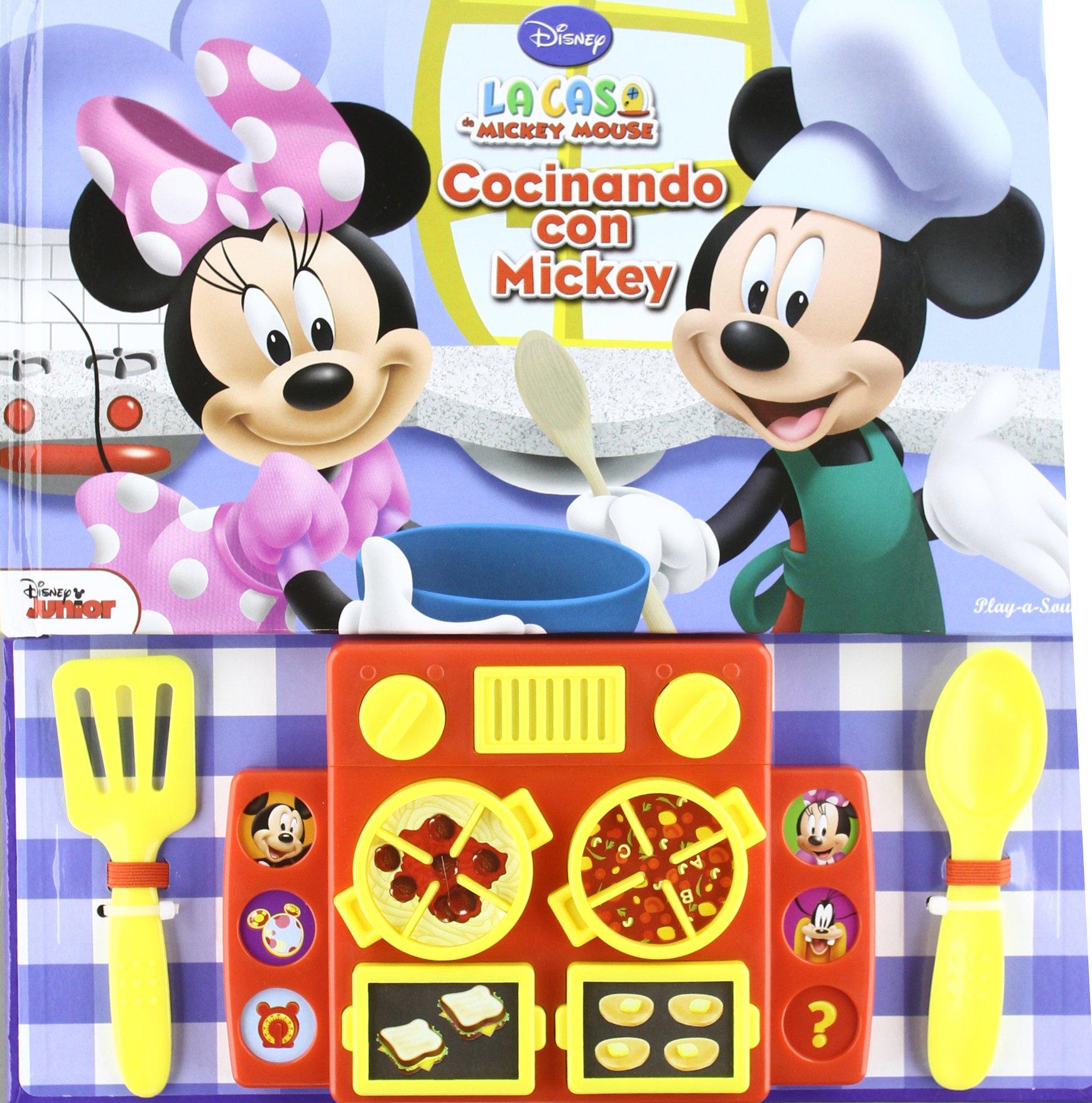 La Casa Mickey Mouse Concinando Con Mickey - Disney Junior España (La Casa Mickey Mouse) (Spanish) Hardcover – 2014