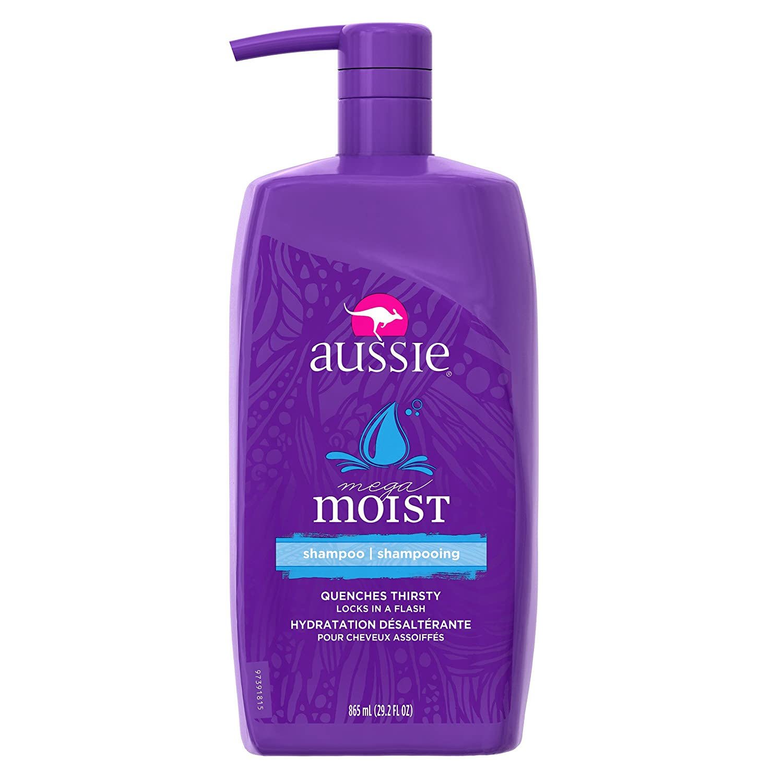 Aussie Moist Shampoo with Pump, 29.2 Fl Oz