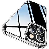 CASEKOO Crystal Clear Designed for iPhone 12 Pro Max Case, [Anti-Yellowing] [Military Grade Protection] Shockproof…