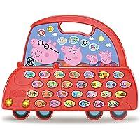 VTech - El Coche Alfabeto de Peppa Pig, Juguete niños +3 años, aprende el abecedario, descubre Nuevo Vocabulario, más de…