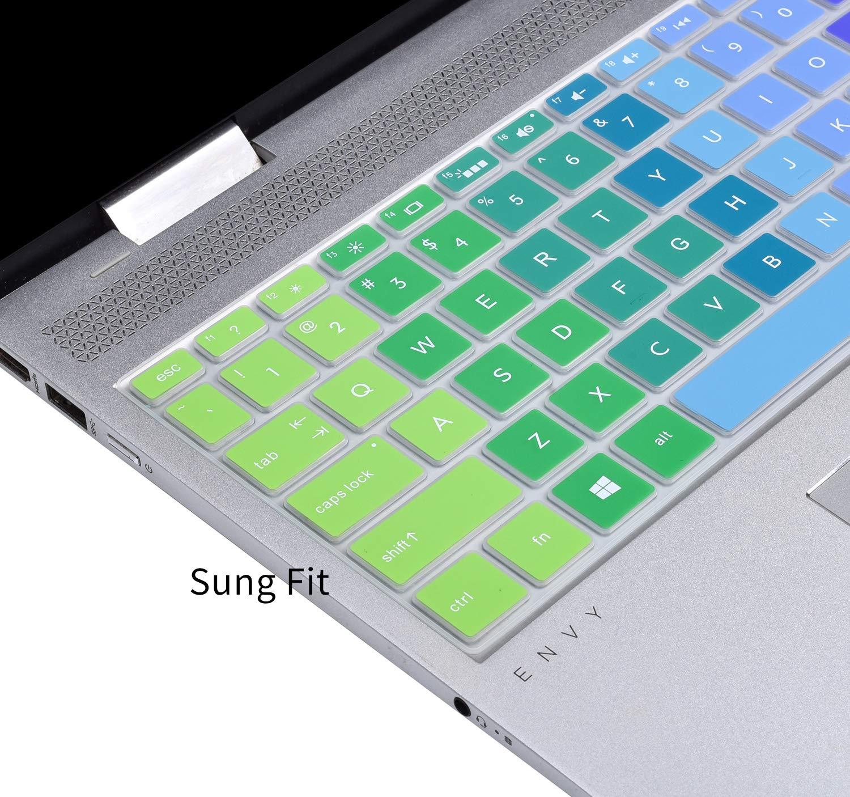 15.6 HP Pavilion x360 15-BR075NR Clear Pavilion 15-CB010NR 15-CB071NR 15-CC010NR 15-CC020NR HP ENVY X360 15M-BP012DX 15M-BP011DX 15M-BQ021DX Keyboard Cover for 17.3 HP ENVY 17M 17M-AE111DX